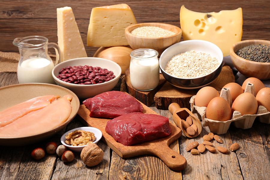 alimentazione sportiva proteine