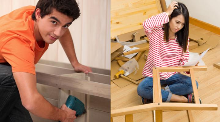 montatore di mobili