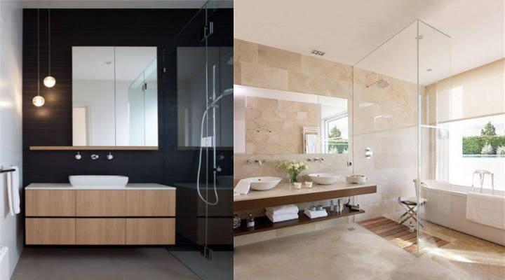 Idee per ristrutturare il bagno. stili e decorazione