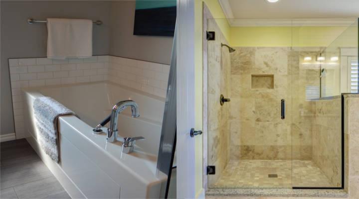 Bagni Con Doccia Foto : Quanto costa sostituire una vasca da bagno con un piatto doccia
