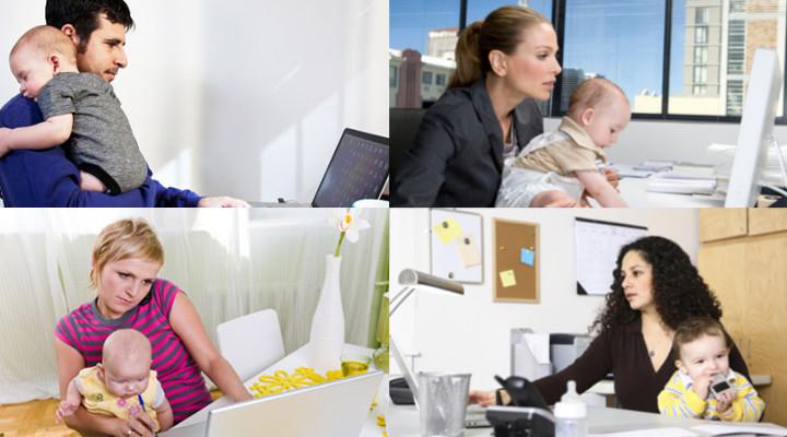 come conciliare lavoro e bambini